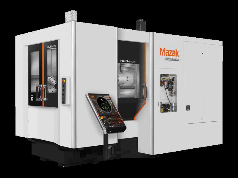 Mazak HCN-5000 horizontal CNC milling machine