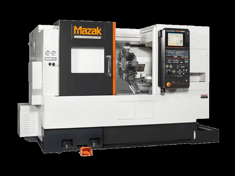Mazak QTN 250-II MSY CNC turning center