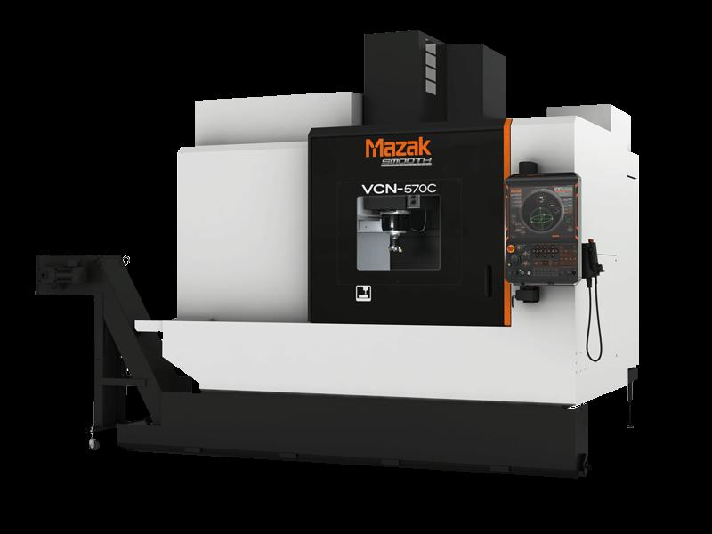 Mazak VCN-570C vertical CNC milling machine